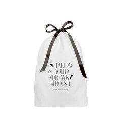 Тканевый мешочек «Take your dreams seriously» цена и информация | Женские сумки | pigu.lt