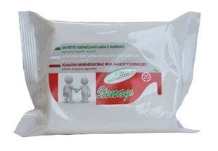 Stenago антибактериальные салфетки, 20 шт. цена и информация | Stenago антибактериальные салфетки, 20 шт. | pigu.lt
