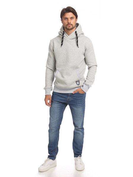Džemperis vyrams Street Industries pilkas kaina