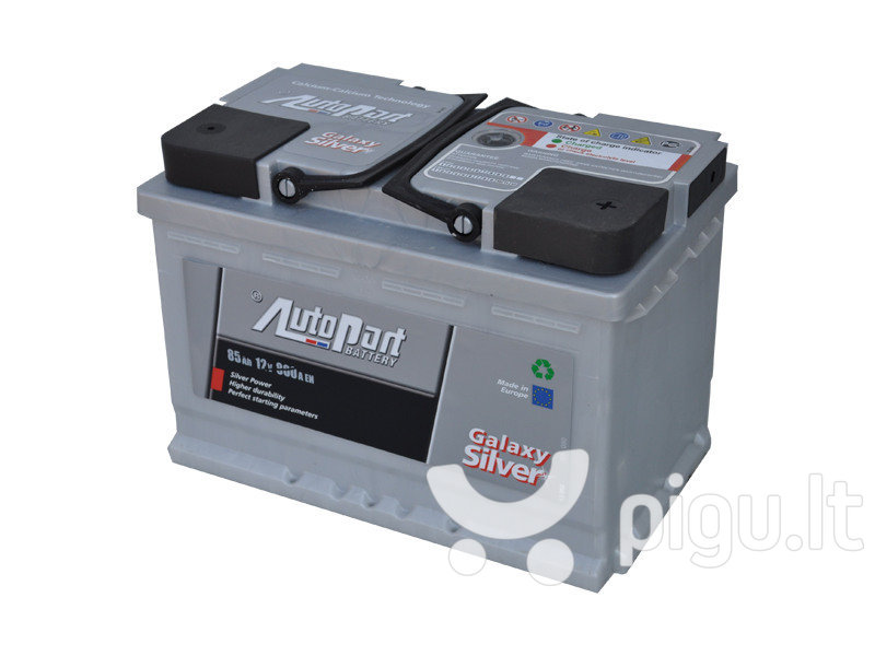 Akumuliatorius 85AH 800A GALAXY SILVER kaina ir informacija | Akumuliatoriai | pigu.lt