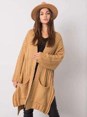 Megztinis moterims, rudas kaina ir informacija | Megztiniai moterims | pigu.lt