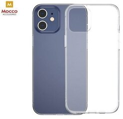 Mocco Ultra Back Case 0.3 mm Silicone Case for Apple iPhone 12 / iPhone 12 Pro Transparent kaina ir informacija | Telefono dėklai | pigu.lt