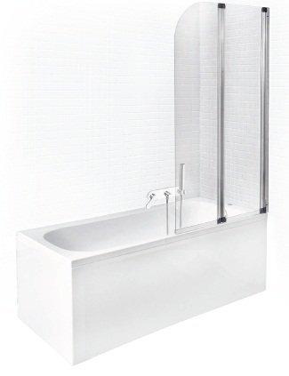 Vonia Besco Continea + mobili stiklo sienelė kaina ir informacija | Vonios | pigu.lt