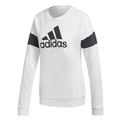 Džemperis moterims Adidas Graphic Crewneck, baltas kaina ir informacija | Megztiniai moterims | pigu.lt