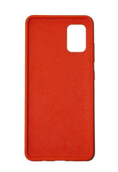 Silikoninis dėklas, skirtas Samsung Galaxy S20FE, raudona - candy red kaina
