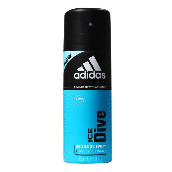 Purškiamas dezodorantas Adidas Ice Dive vyrams 150 ml kaina ir informacija | Parfumuota kosmetika vyrams | pigu.lt