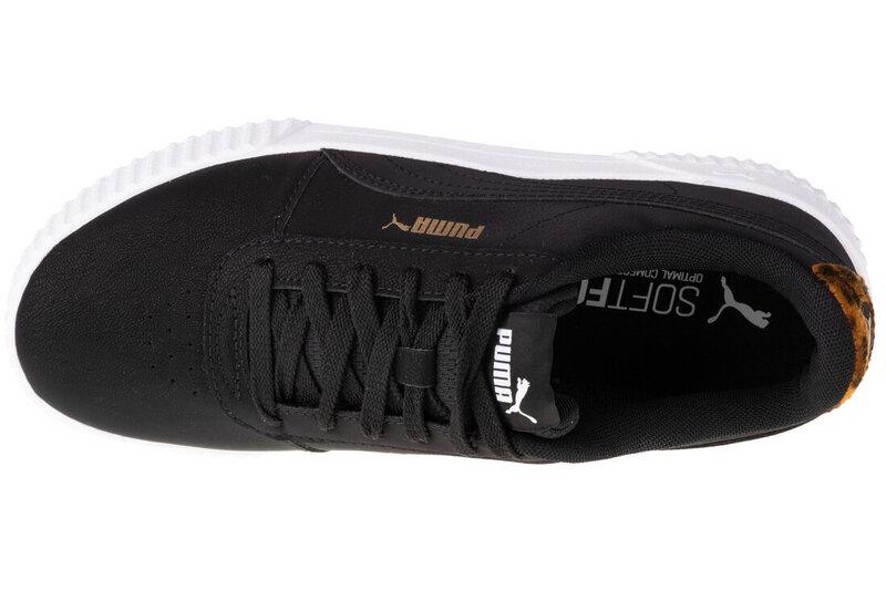 Sportiniai batai moterims Puma Carina Leo H 373228-01, juodi atsiliepimas