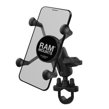 Ram Mount universalus telefono laikiklis metaline koja dviračiams kaina ir informacija | Telefono laikikliai | pigu.lt