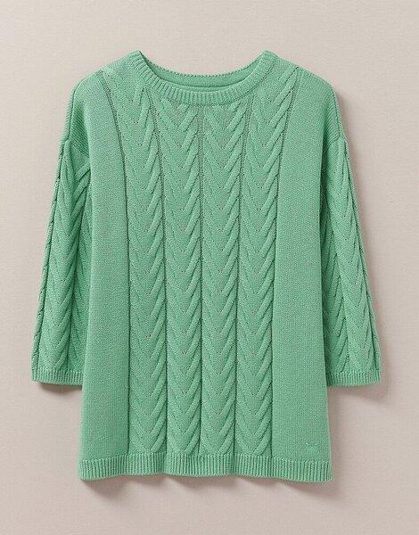 Megztinis moterims Crew WND003, žalias