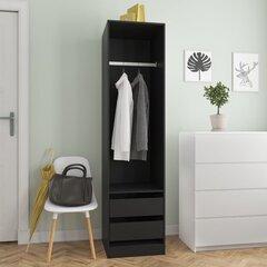 Spinta su stalčiais, 50x50x200 cm, MDP kaina ir informacija | Spintos | pigu.lt