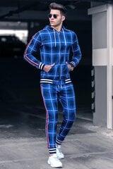 Sportinis kostiumas vyrams Widow, mėlynas kaina ir informacija | Sportinė apranga vyrams | pigu.lt