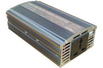Įtampos keitiklis 12V-220V, 300W sin kaina ir informacija | Įtampos keitikliai | pigu.lt