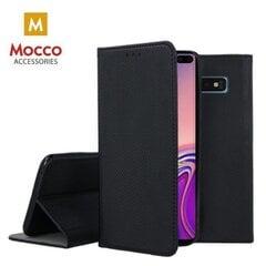 Mocco Smart Magnet Book Case, skirta Xiaomi Mi 10T 5G / Mi 10T PRO, juodas kaina ir informacija | Telefono dėklai | pigu.lt