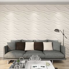 Sienos plokštės, 24vnt., 0,5x0,5m, 6m², 3D kaina ir informacija | Plytelės sienoms | pigu.lt