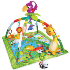 Развивающий коврик Fisher Price Rainforest Melodies & Lights Deluxe
