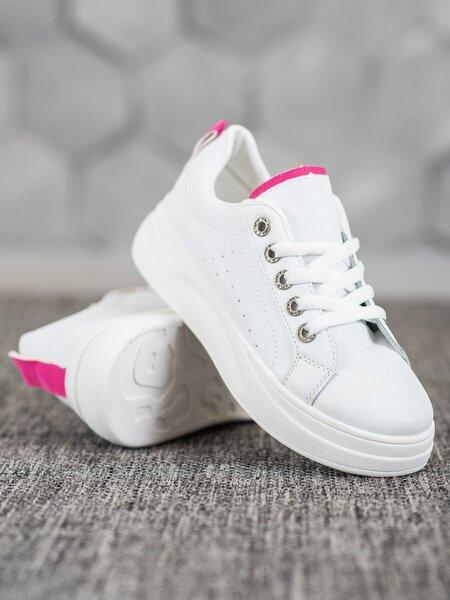 Laisvalaikio batai moterims, balti