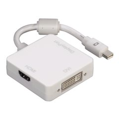 Adapteris Hama 00053245 Mini DisplayPort - DVI, Displayport, HDMI