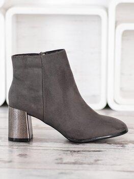 Aulinukai moterims Goodin, pilki kaina ir informacija | Aulinukai, ilgaauliai batai moterims | pigu.lt