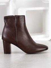Aulinukai moterims Super Mode, rudi kaina ir informacija | Aulinukai, ilgaauliai batai moterims | pigu.lt