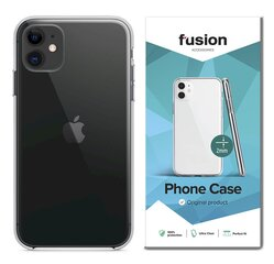 Fusion Ultra Clear Series, skirtas LG K41S, skaidrus kaina ir informacija | Telefono dėklai | pigu.lt