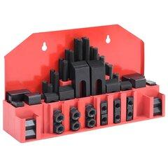 Spaustuvų rinkinys, 58 dalių, plienas, t lizdo, m14 kaina ir informacija | Mechaniniai įrankiai | pigu.lt