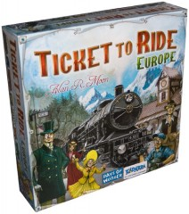 Stalo žaidimas Ticket to Ride: Europe, LT, LV, EE