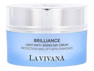 Dieninis veido kremas La Vivana Brilliance Light Anti-Aging 50 ml kaina ir informacija | Veido kremai | pigu.lt