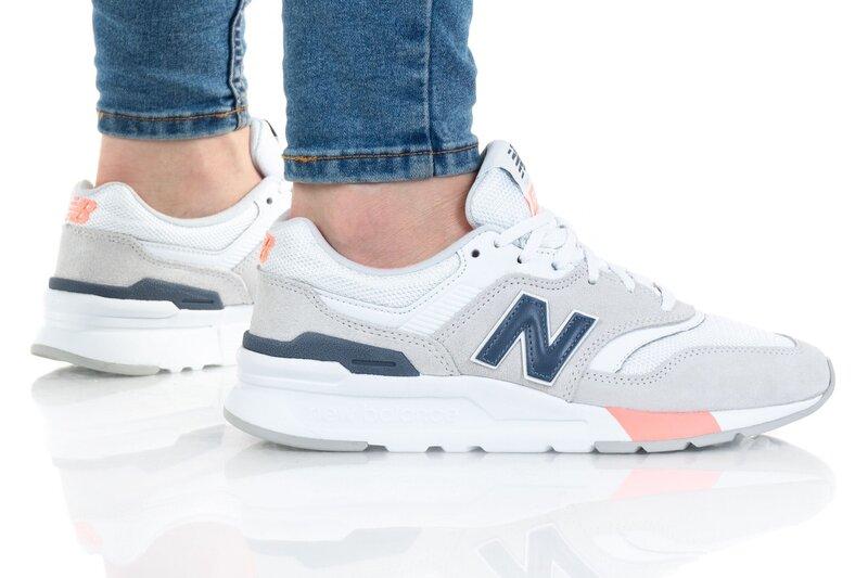 Laisvalaikio batai moterims New Balance, pilki