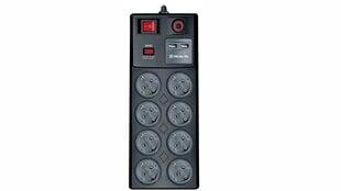 Tinklo filtras-ilgiklis Real-EL RS-8F USB Charge su įmontuotu USB įkrovimo įrenginiu kaina ir informacija | Prailgintuvai | pigu.lt