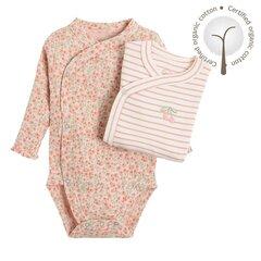 Cool Club smėlinukas ilgomis rankovėmis mergaitėms, 2 vnt., CNG2201646-00 kaina ir informacija | Smėlinukai, siaustinukai | pigu.lt