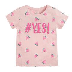 Cool Club marškinėliai trumpomis rankovėmis mergaitėms, CCG2213279 kaina ir informacija | Marškinėliai mergaitėms | pigu.lt