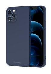 Swissten Soft Joy Silicone Case for Samsung Galaxy A21s Blue kaina ir informacija | Telefono dėklai | pigu.lt