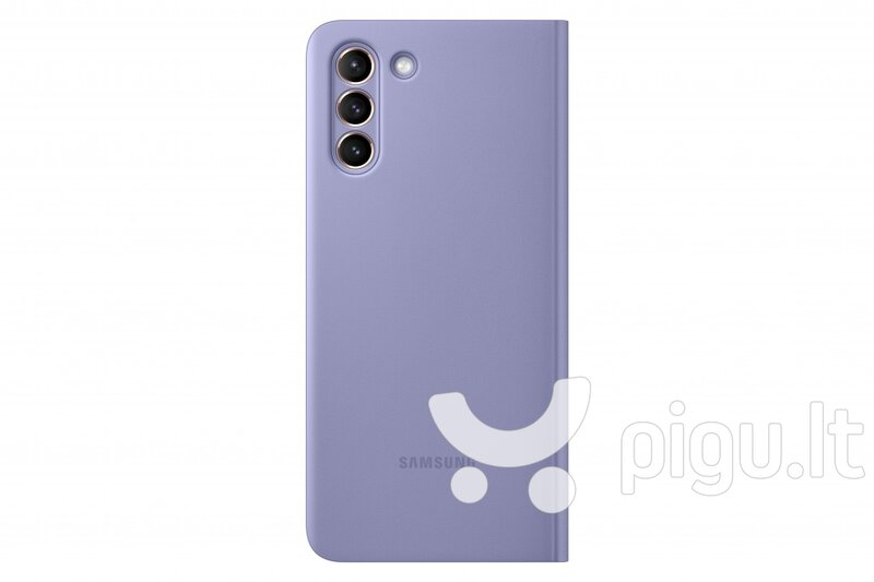 Samsung Smart Clear View dėklas skirtas Samsung Galaxy S21 Plus, violet kaina