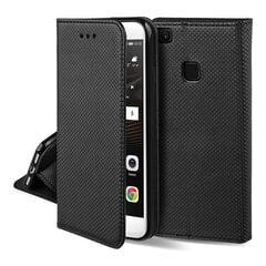 Hallo Smart Magnet Book Case Knygų telefono dėklas Samsung Galaxy S21 Ultra Juoda kaina ir informacija | Telefono dėklai | pigu.lt