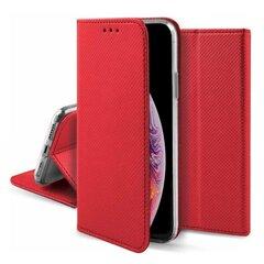 Fusion Magnet Book dėklas, skirtas Xiaomi Mi 8 Pro, raudonas kaina ir informacija | Telefono dėklai | pigu.lt