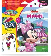 Rinkinys Susikurk pats šaldytuvo magnetukus, Colorino Creative Disney Junior Minnie kaina ir informacija | Lavinamieji žaislai | pigu.lt