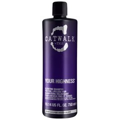 Purinamasis plaukų šampūnas Tigi Catwalk Your Highness Elevating 750 ml