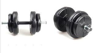 Диск для гантель Ecgspor 20 кг, 2 шт. цена и информация | Грузы, гантели, грифы | pigu.lt