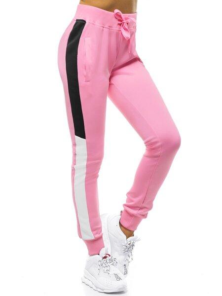 Laisvalaikio kelnės moterims Demir, rožinės kaina ir informacija | Sportinė apranga moterims | pigu.lt