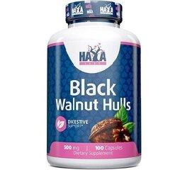 Maisto papildas Haya Labs Juodojo riešuto lukštai 500 mg, 100 kapsulių kaina ir informacija | Vitaminai ir maisto papildai gerai savijautai | pigu.lt