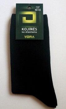 Kojinės su elastanu vyrams, juodos, 6 poros kaina ir informacija | Vyriškos kojinės | pigu.lt