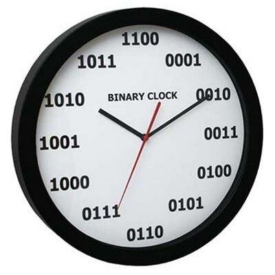 Laikrodis su dvejetaine skaičių sistema kaina ir informacija | Laikrodžiai – žadintuvai | pigu.lt
