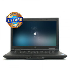 Nec VK20E-M 2950M 8GB 960GB SSD Windows 10 Professional (Renew) kaina ir informacija | Nešiojami kompiuteriai | pigu.lt