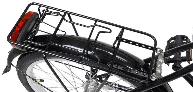 "Sulankstomas dviratis AZIMUT Fold 20"" 2021, juoda"