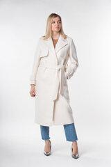 Moteriškas paltas Came 339, baltas kaina ir informacija | Paltai moterims | pigu.lt