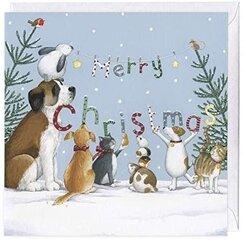 Atvirukas Kalėdinis - Merry Christmas цена и информация | Конверты, открытки | pigu.lt