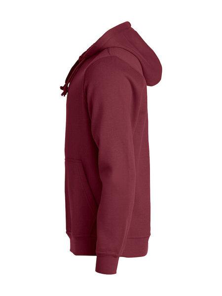 Džemperis vyrams Clique Basic Hoody burgundy internetu