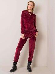 Laisvalaikio komplektas moterims Dalida, bordinis kaina ir informacija | Sportinė apranga moterims | pigu.lt