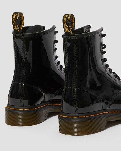 Aulinukai moterims Dr. Martens 1460 W Black Patent 11821011, juodi