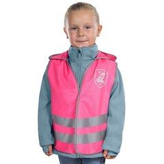 Reer vaikiška dviratininko liemenė MyBuddyGuard, rožinė kaina ir informacija | Dviratininkų apranga | pigu.lt